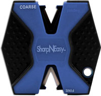 AccuSharp SharpNEasy Knife Sharpener, Blue, AS-334C