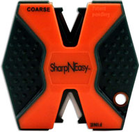 AccuSharp SharpNEasy Knife Sharpener, Orange, AS-336C