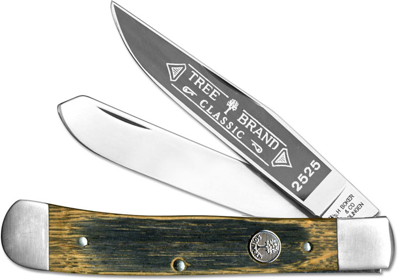 Boker Trapper Beer Barrel Bk 2525bbl