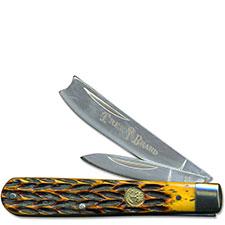 Boker Razor Jack Knife, Jigged Brown Bone, BK-743
