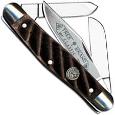 Boker Stockman Knife, Limited Washboard Brown, BK-7474WBB