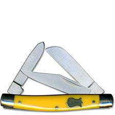 Boker Knives Boker Mini Stockman Knife, Yellow, BK-BO234Y