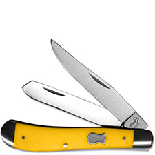 Boker Knives Boker Mini Trapper Knife, Yellow, BK-BO294Y
