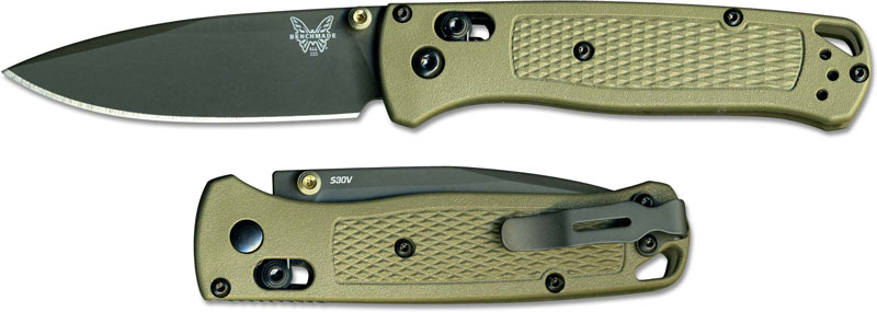 Benchmade Bugout 535gry 1 Knife Gray Nitride Drop Point