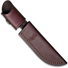 Buck Woodsman Knife Sheath, Brown Leather, BU-102BRS