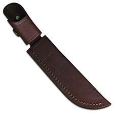 Buck Pathfinder Knife Sheath Only, Burgundy Leather, BU-105BRS