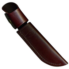 Buck Personal Knife Sheath Only, Burgundy Leather, BU-118BRS