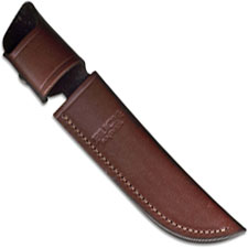 Buck Special Knife Sheath, Brown Leather, BU-119BRS