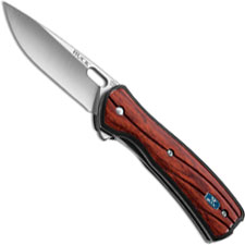 Buck Vantage Knife, Small Rosewood Dymondwood Select, BU-341RWS