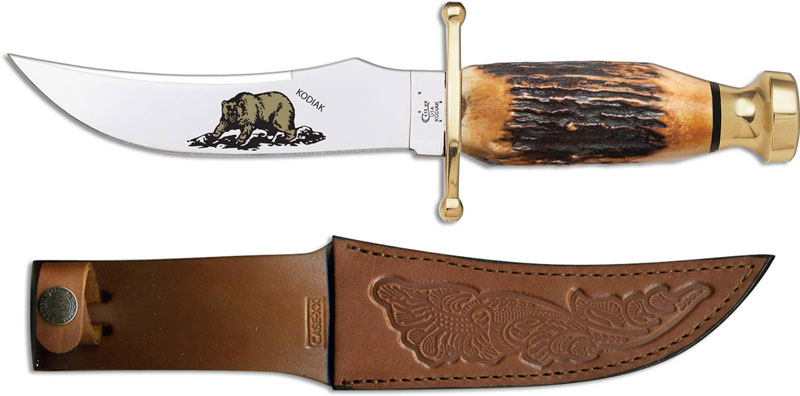 Case Kodiak Hunter 10360 Knife Limited Genuine Burnt Stag