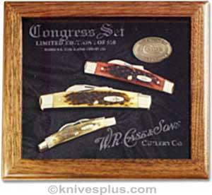 Case Knives Case Congress Knife Commemorative Set Ca 1087