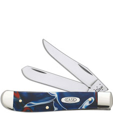 Case Mini Trapper Knife, Kirinite Patriot, CA-11209