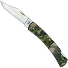 Case Knives Case Caliber Lockback Knife, Camo, CA-118