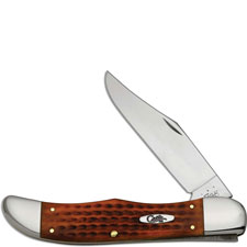 Case Folding Hunter, Pocket Worn Harvest Orange Bone, CA-16999