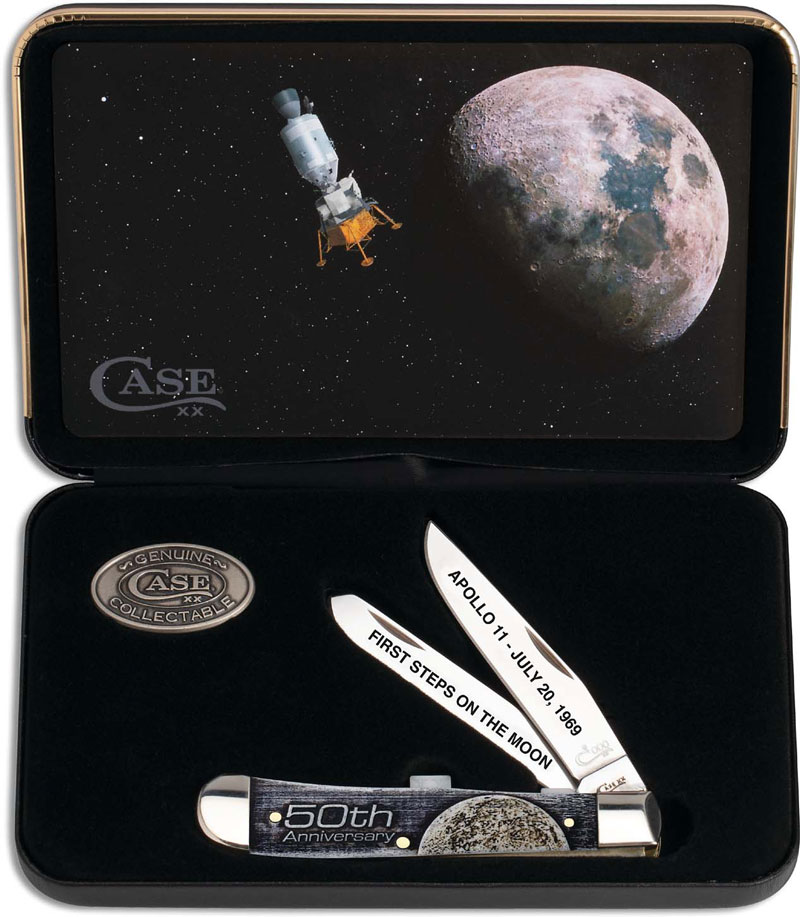 Case Trapper Gift Set Man On The Moon 50th Anniversary