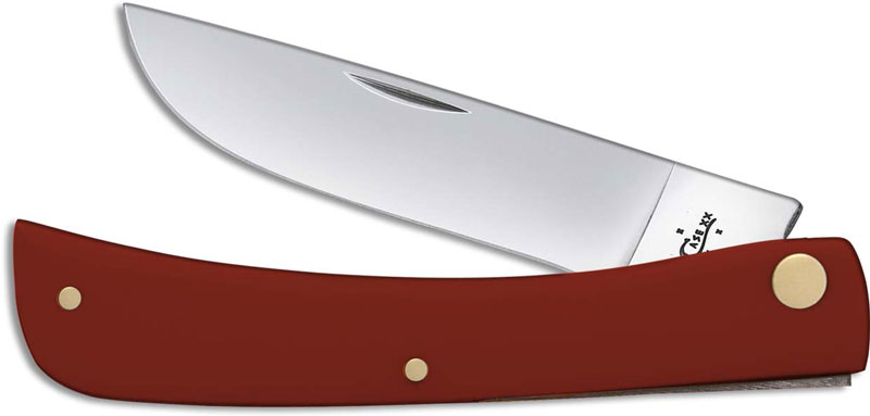 Case Sod Buster Jr Knife 22806 Limited Smooth Red