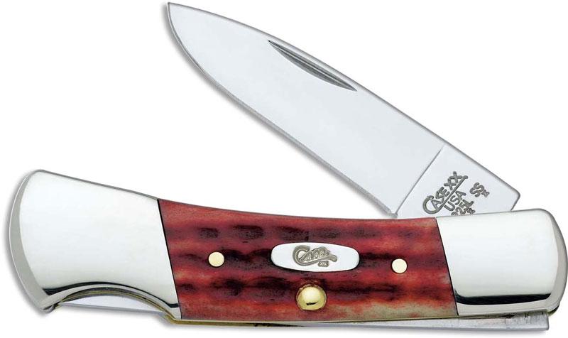 Case Knives Case Pocket Worn Old Red Small Lockback Knife
