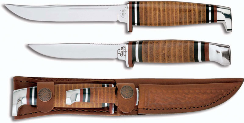 Case Knives Case Hunting Knife Twin Finn Two Knife Set