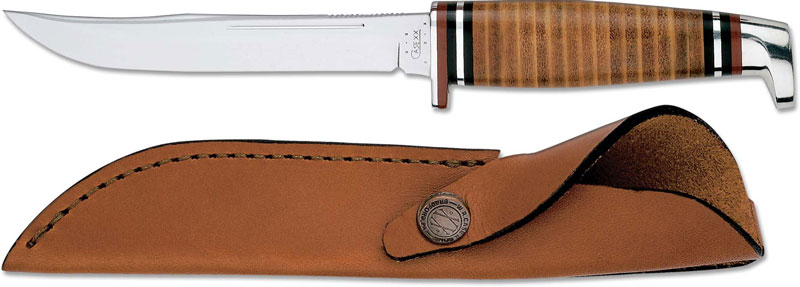 Case Knives Case Hunting Knife 5 Quot Finn With Leather