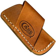 Case Leather Belt Sheath, Side Draw, CA-50148