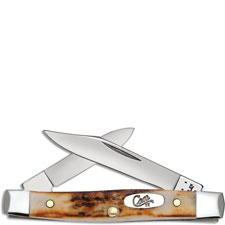 Case Small Pen Knife, Genuine Stag, CA-88