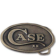 Case Knives Case Oval Belt Buckle, Case XX Logo, CA-934