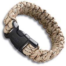 CRKT Survival Para Saw Bracelet, Large Tan, CR-9300TL