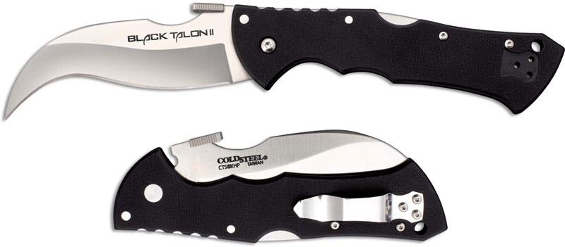 Cold Steel Black Talon Ii Knife Cs 22bt