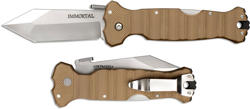 Cold Steel 23gvb Immortal Knife Mike Wallace Open On