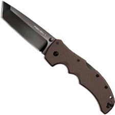 Cold Steel Recon 1 27TLTVF Knife Tanto Flat Dark Earth G10 Locking Folder