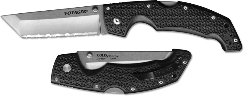 Cold Steel Voyager Large Tanto Serrated Cs 29tlcts
