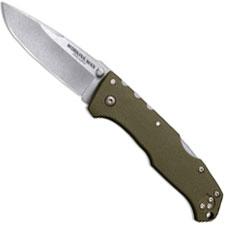 Cold Steel Working Man 54NVG Knife Steve Austin EDC OD Green GFN Locking Folder