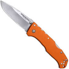 Cold Steel Working Man 54NVRY Knife Steve Austin EDC Blaze Orange GFN Locking Folder