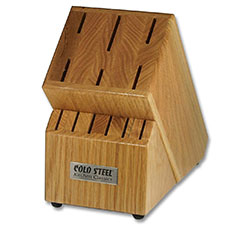 Cold Steel Kitchen Knife Block Only, CS-59KBL