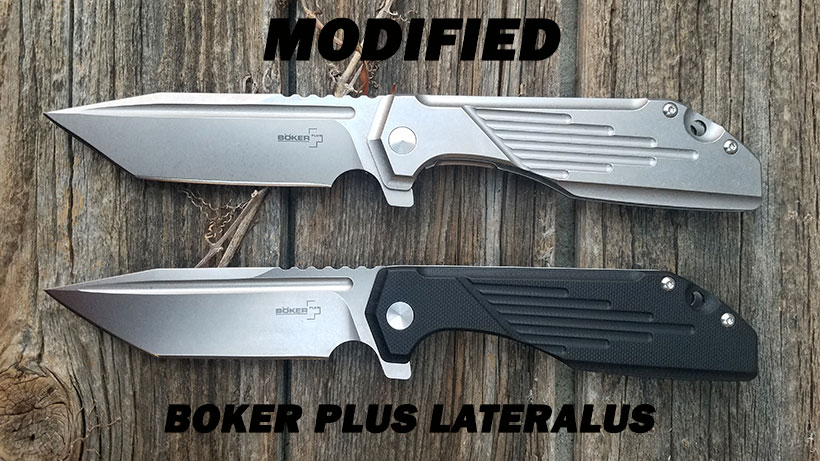 Modified Boker Plus Lateralus JB Stout Design
