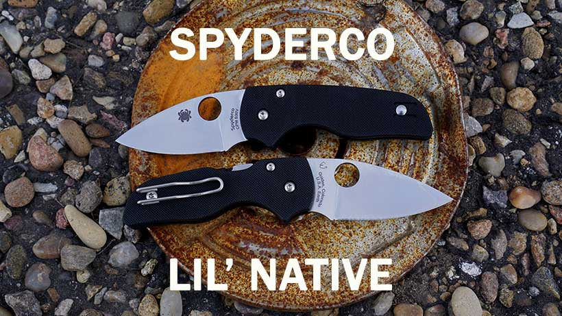 Spyderco Lil Native C230GP Now Available