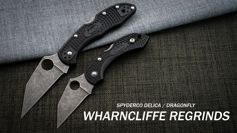 Modified Spyderco Regrind Wharncliffe