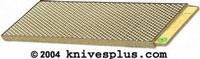 DMT Knife Sharpener DMT DuoSharp 10 Bench Stone, Fine/Extra Fine, DMT-W250EFNB