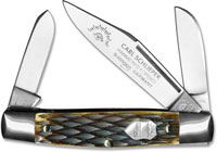 Eye Brand Knives Eye Brand Stockman Knife, Bone Handle, EB-350
