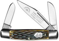 Eye Brand Knives Eye Brand Stockman Knife, Bone Handle, EB-350