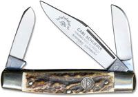 Eye Brand Knives Eye Brand Stockman Knife, Stag Handle, EB-350DS