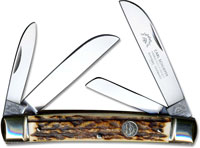Eye Brand Congress Knife, Large 60 Pattern, Stag Handle, EB-60DS