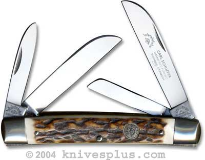 Eye Brand Congress Knife Large 60 Pattern Stag Handle
