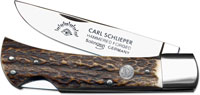 Eye Brand Knives Eye Brand Locking Sod Buster Knife, Stag, EB-99DSL