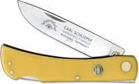 Eye Brand Knives Eye Brand Locking Sod Buster Knife, Yellow Handle, EB-99YLK