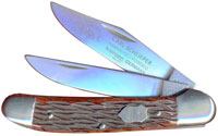 Eye Brand Knives Eye Brand Copperhead Knife, Pickbone Handle, EB-GX
