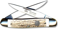 Eye Brand Knives Eye Brand Muskrat Knife, Stag Handle, EB-MDS