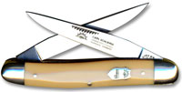 Eye Brand Muskrat Knife with Yellow Handle, EB-MY