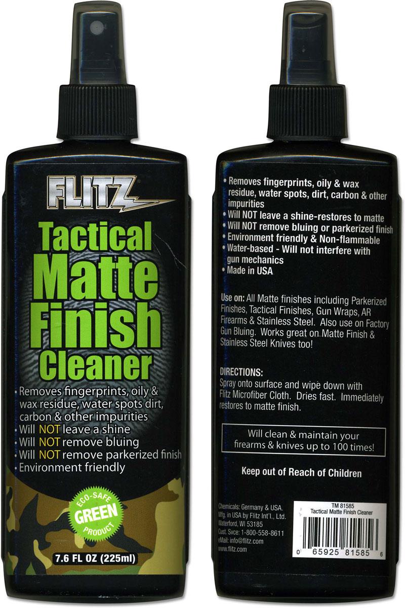 Flitz Tactical Matte Finish Cleaner Fl 81585