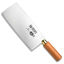 Forschner Chinese Cleaver, 8 Inch Wood, FO-40090
